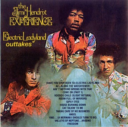 The Jimi Hendrix Experience - Electric Ladyland (1997 ... |Electric Ladyland Album Cover