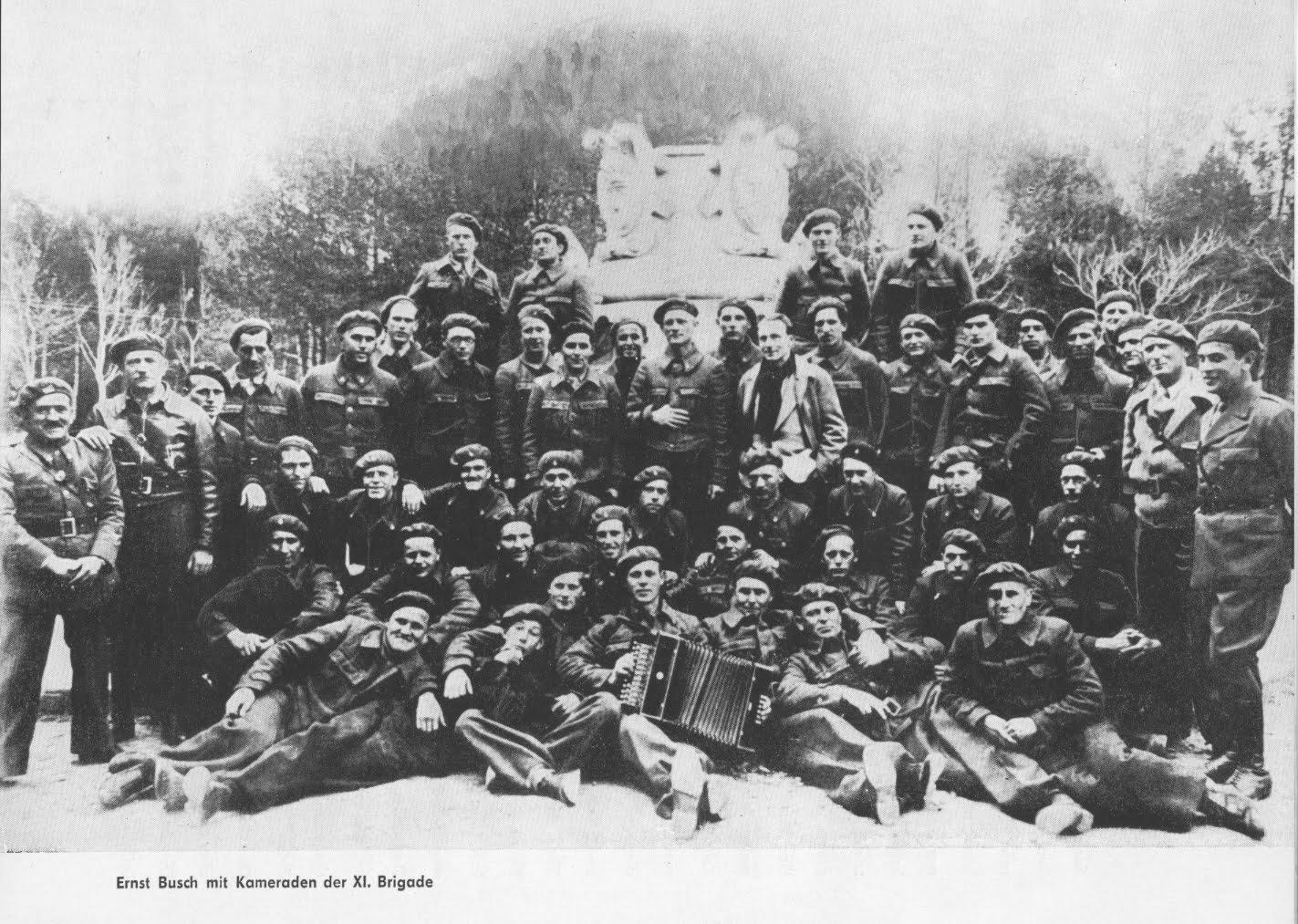 Ernst Busch Canciones De Las Brigadas Internacionales